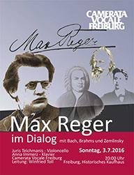 Max Reger im Dialog
